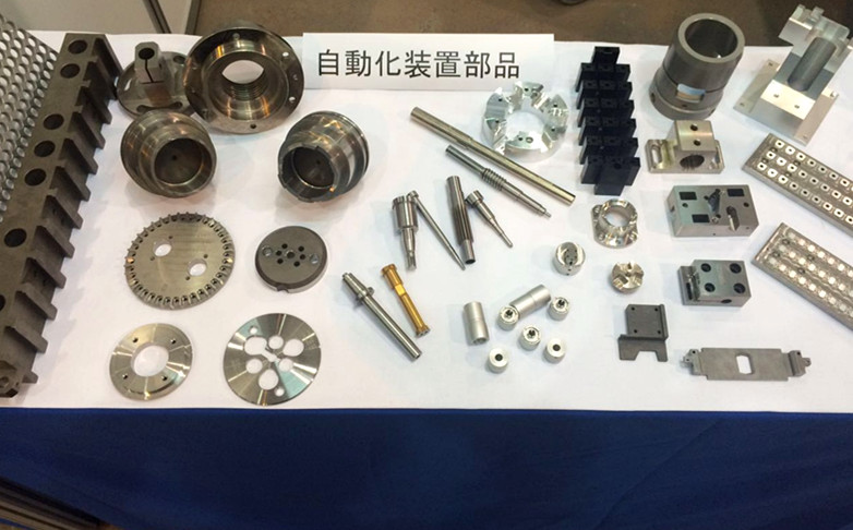 Machined parts and components for machinery, automation equipment,aerospace and medical