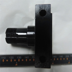 Black Oxide coating milled part